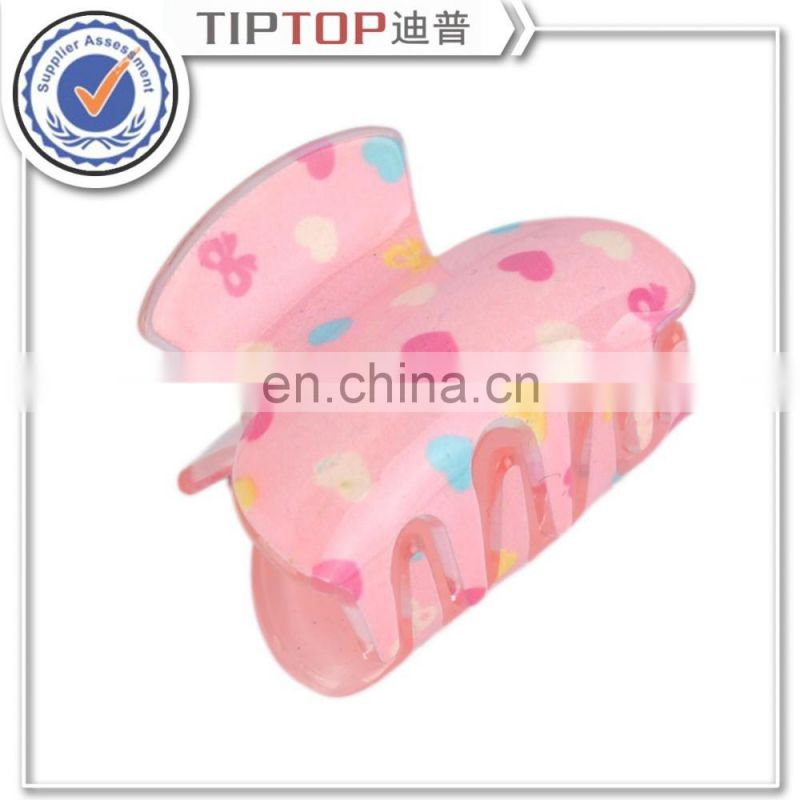 Acrylic Hair Caught Barrettes Candy Colors Fashion Hairpin Gripper Fitted Hair Claws Vertical Clip
