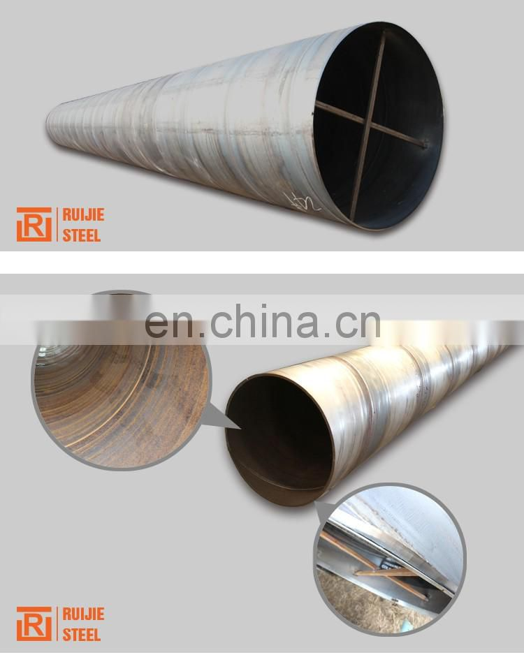 ASTM A523 spiral steel pipe, big diameter 720mm spiral pipe for water