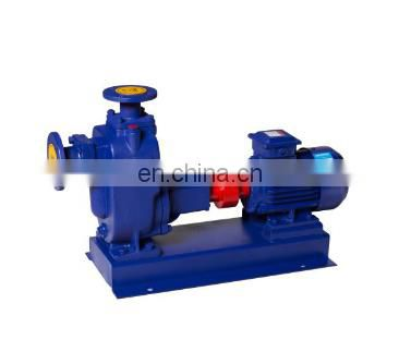 ZW open impeller sewage pump self-priming non-clog pump