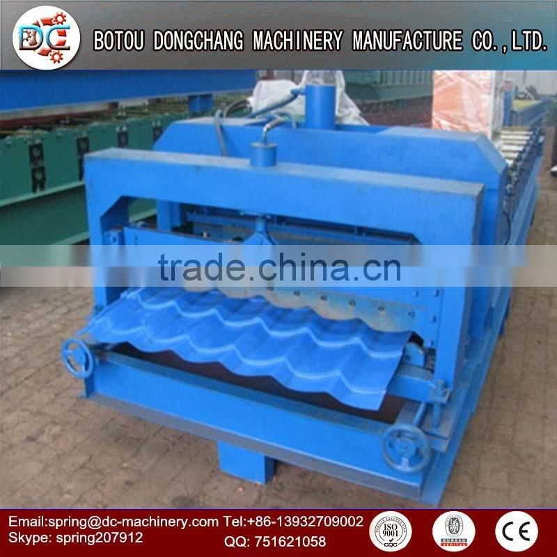 Aluminum purline used roller shutter roll forming machine highway guardrail roll forming machine
