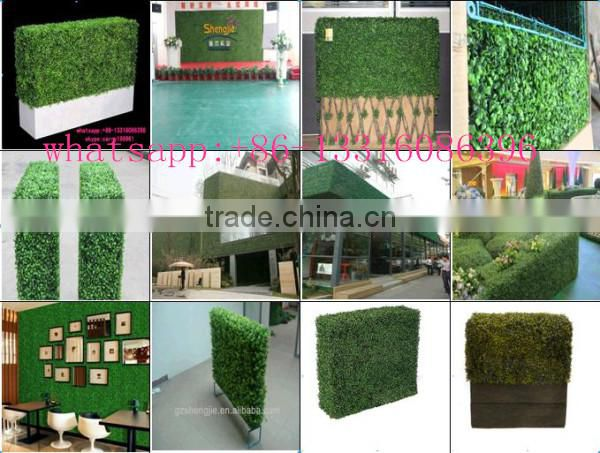 manufacturer artificial hedge garden decoration fence artificial green wall