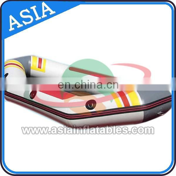 Water inflating boat fishing boat