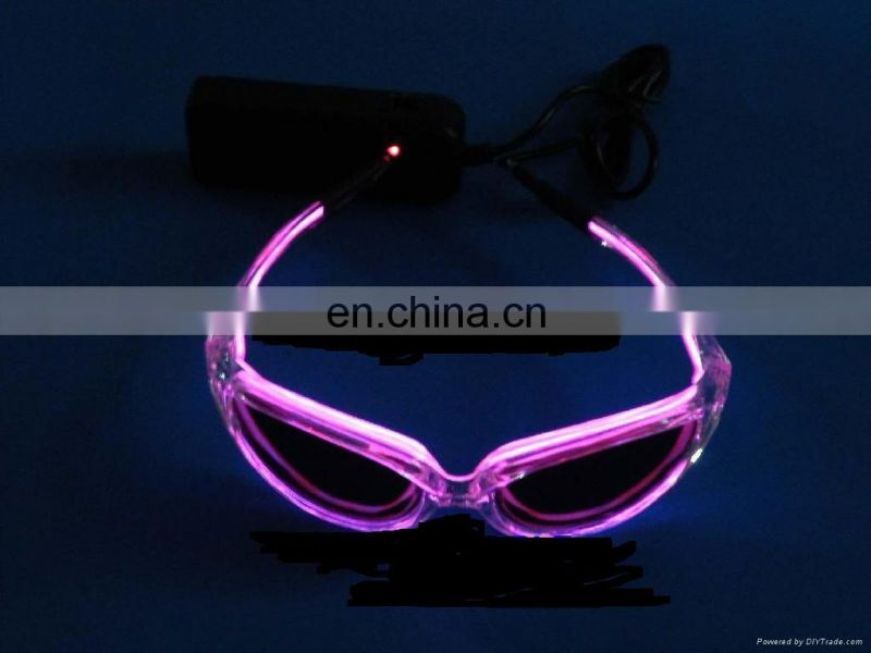 flashing fashion sunglasses