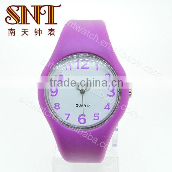 SNT-SI032B silicone watch design custom design watch designer watch bands