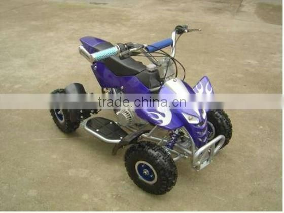 mini kids gas powered atvs cheap 50cc atv for sale 4 wheeler quad bike for children ( LD-ATV327)