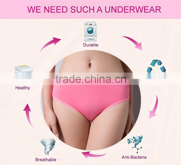 Wholesale cotton young lady underwear panty with letters printing
