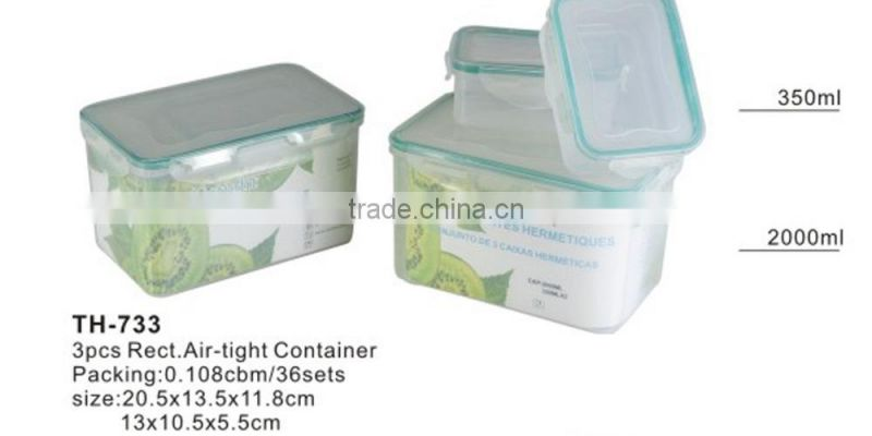easy use airtight food container(TH733)