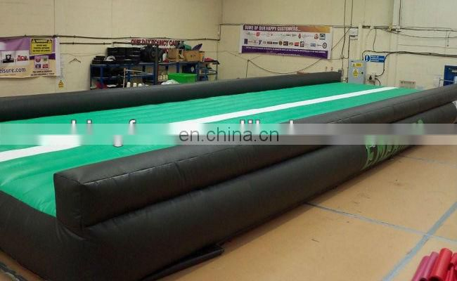hot selling sport game inflatable tumble track for sale
