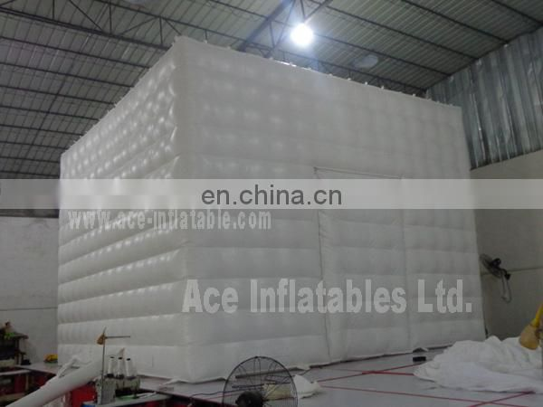 2014 New design Inflatable Square tent with door for events