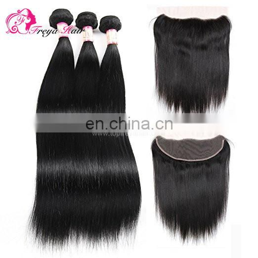 Freya Hair Cheap Virgin Brazilian Human Hair Weave Bundles