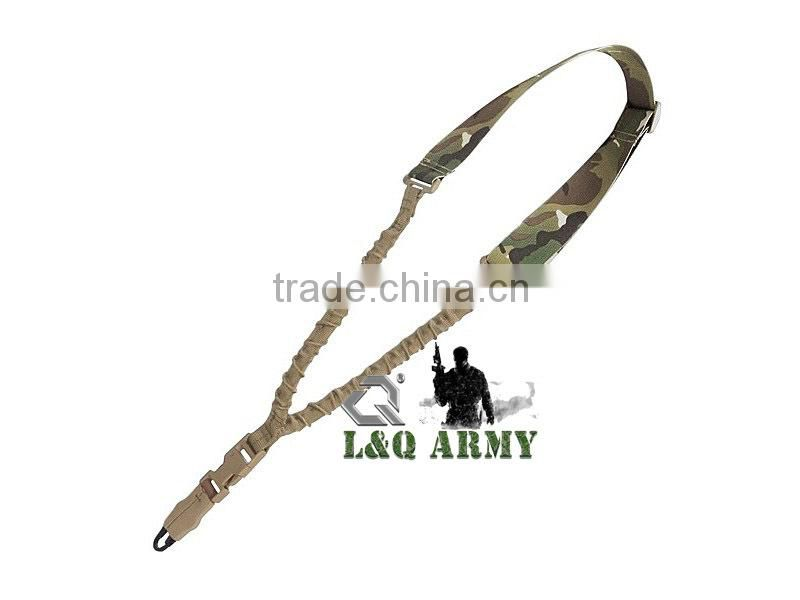 Military Sling Tactical Single Point Bungee Sling