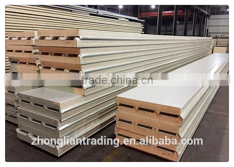 Construction styrofoam roof tile sandwich panels for ceiling