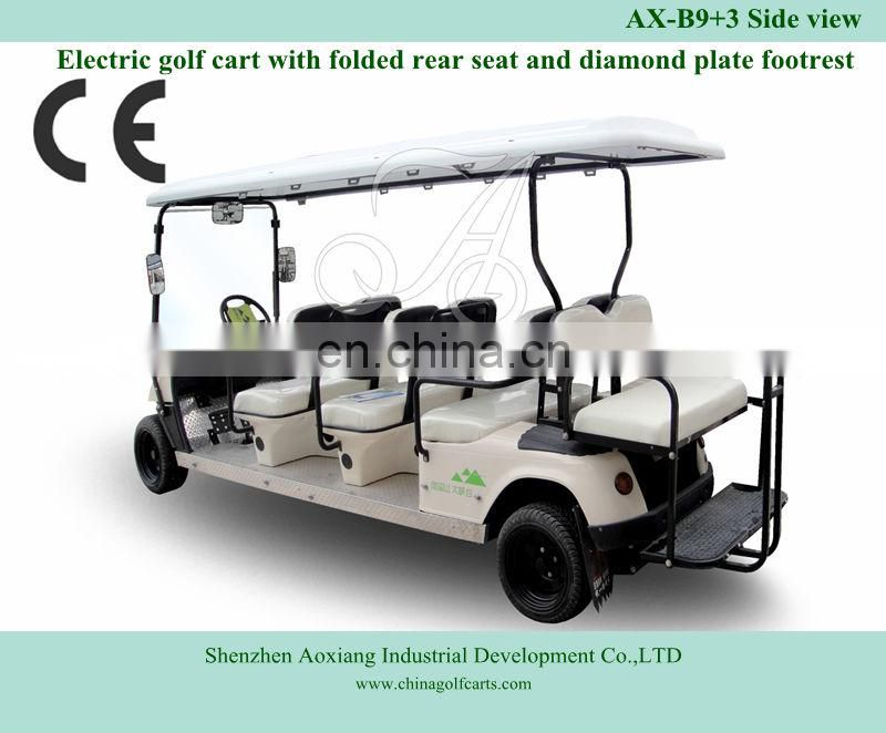 Annual top seller Electric 8 person golf cart for sale | Sightseeing car | for Southeastern Asia market