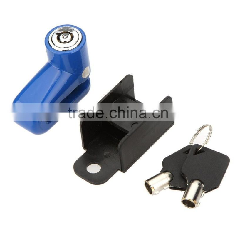 Anti-Theft Safety Security Motorcycle Bicycle Lock Steel Mountain Road MTB Bike Cycling Rotor Disc Brake Wheel Lock