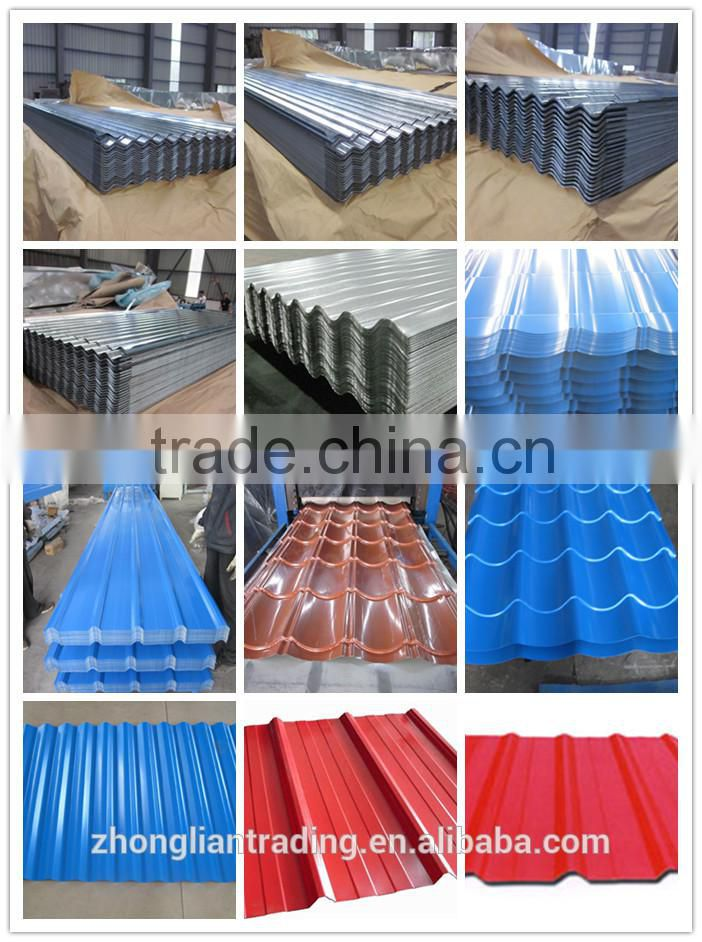 High rib heat resistant tata tile roofing sheets for sale price in sri lanka