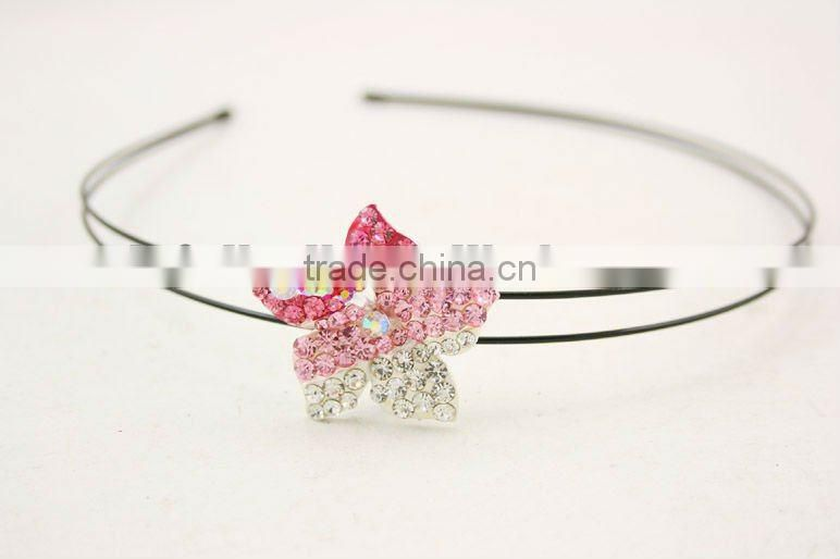 crystal headands accessory alloy/rhinestone/copper