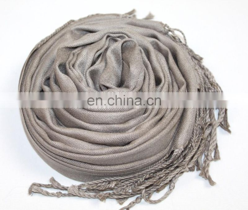 2014 scarf gift plain color scarf bamboo scarf fabric