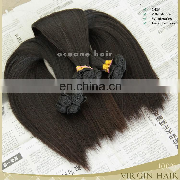 wholesle grade 7a Hot Sale Premium virgin human hair straight bulk hair wholesale price