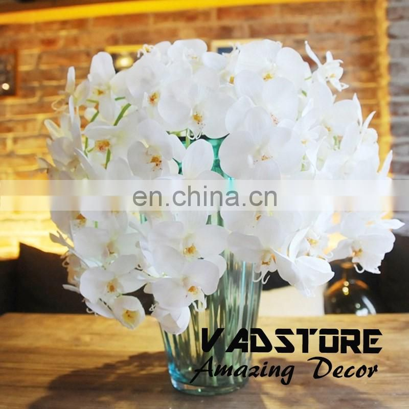 Artificial Butterfly Orchid Flower Plant Home Wedding Party Decor real touch orchid flower