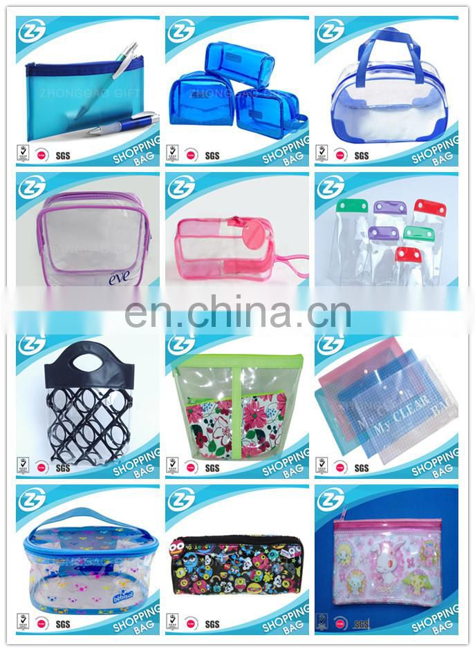 Zipper Slider Frosty Soft Bag Pouch, Cosmetic Packing Packaging