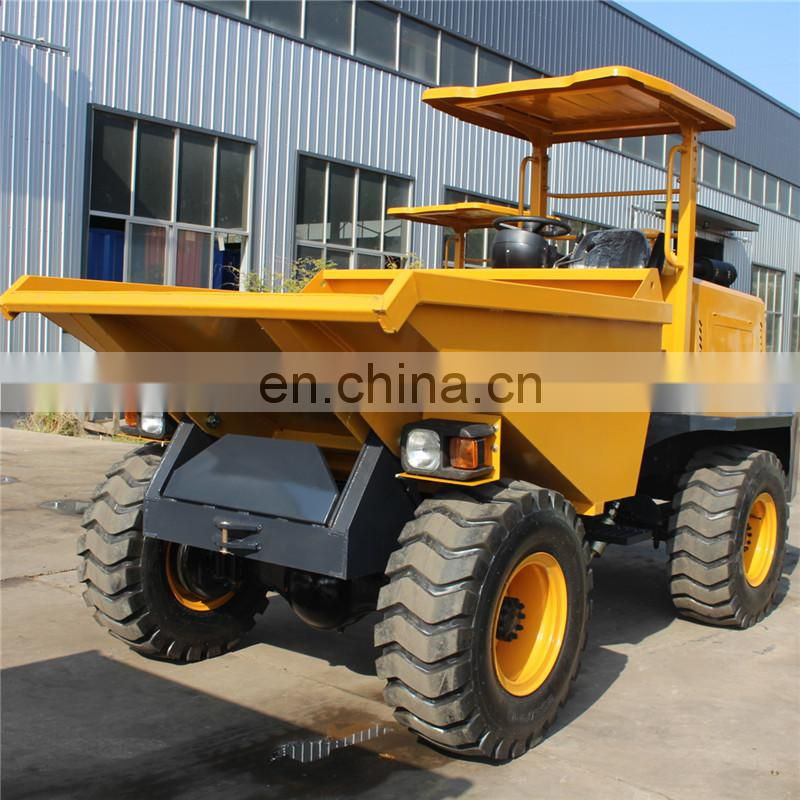 Weifang Map Site Mini Dumper With 3 ton Capacity Image
