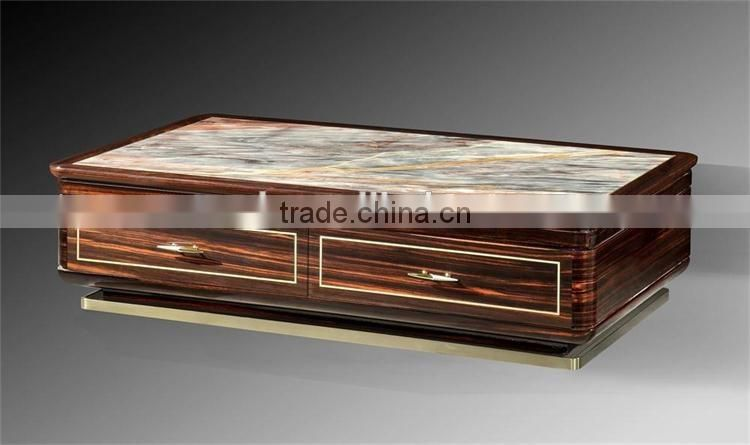 new coming nature italian marble top living room coffee table for sale