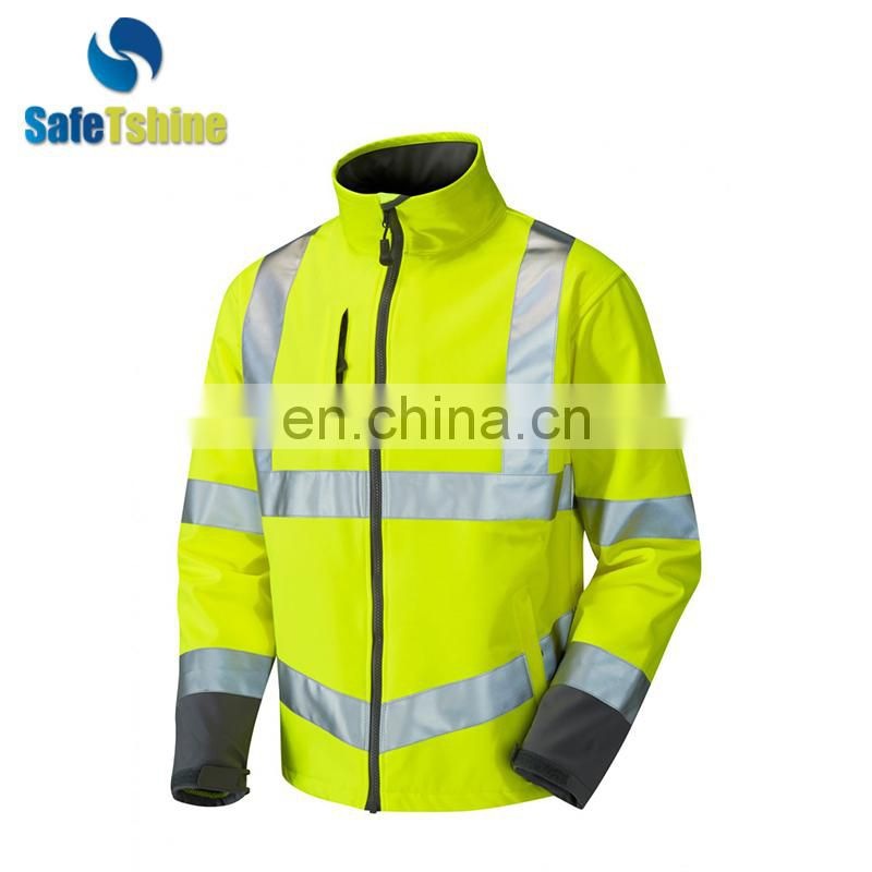 OEM service customized breathable fleece jacket for winter