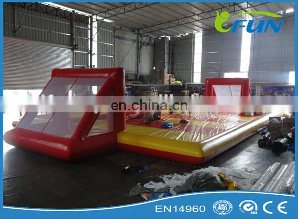 inflatable human table babyfoot field / inflatable table babyfoot / inflatable human foosball babyfoot