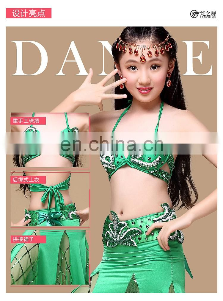 ET-140 Latest designed performance sexy children belly dance costumes