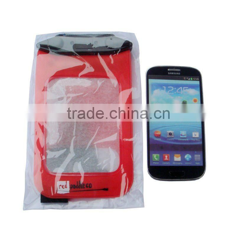 Waterproof Underwater Dry Case Pouch Bag for Digital Camera/Cell Phones/PSP/Mp3 arm brand beach bag for sumsung s3