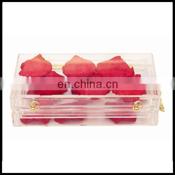 manufacturer evening bag acrylic clutch bags