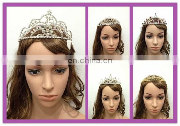 Bailange new arrival Hair Accessories fancy birthday girl crown