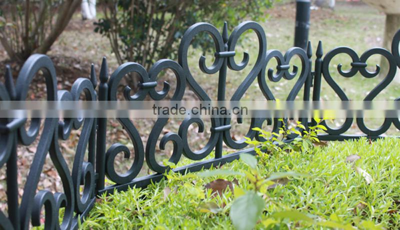 (559) Various Kinds of Brick Design High Quality Decorative Plastic Garden Fence