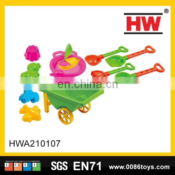 Plastic cartoon feature disassembled mini elecrtic toy excavator for kids