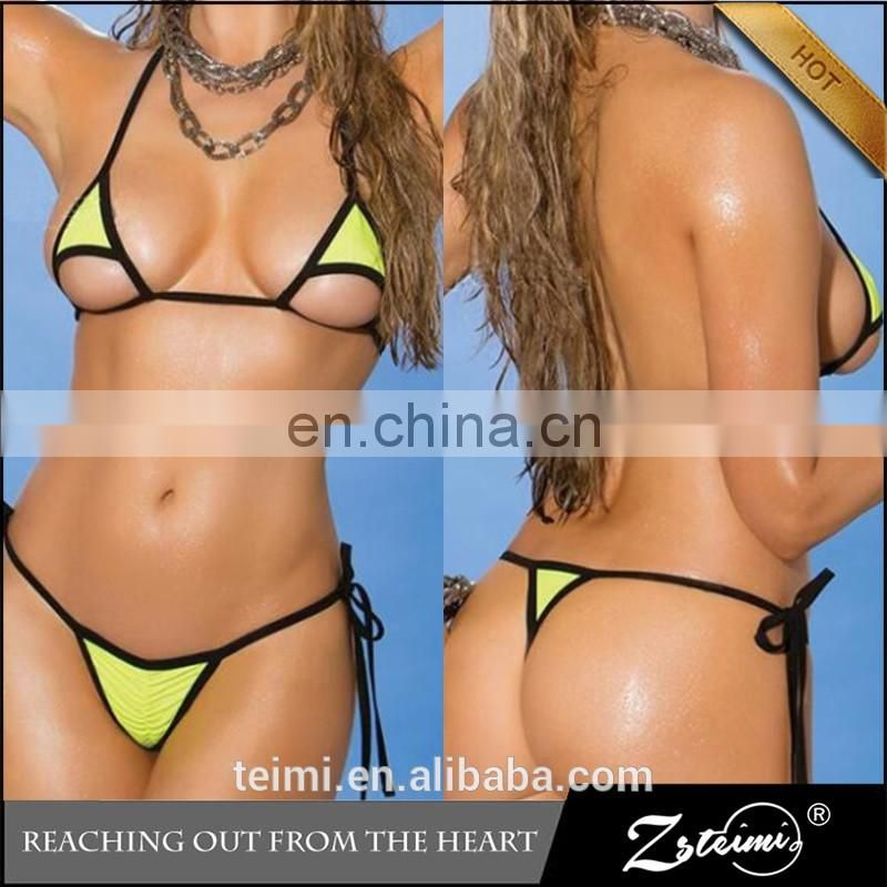 2017 New Arrival 3 Colors Sexy Swimwear Micro Bikini Sexy MIni Beach Bikini