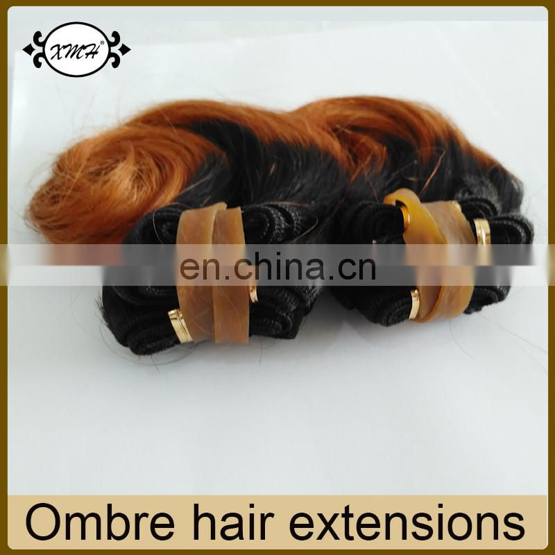 100% Brazilian Human Hair 8A Grade Remy Hair Extension Ombre 1B 30 Short Hair Weaves