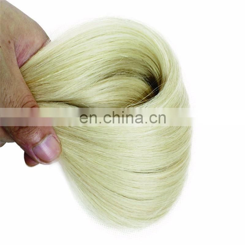 Aliexpress Factory Wholesale natural long hair Unprocessed 10A Grade Straight Human gray Hair Weave Virgin raw indian Hair