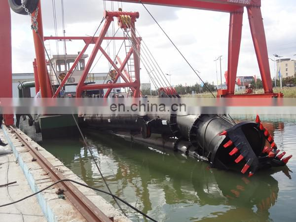 18 inch cutter suction dredger with dredging depth 15m