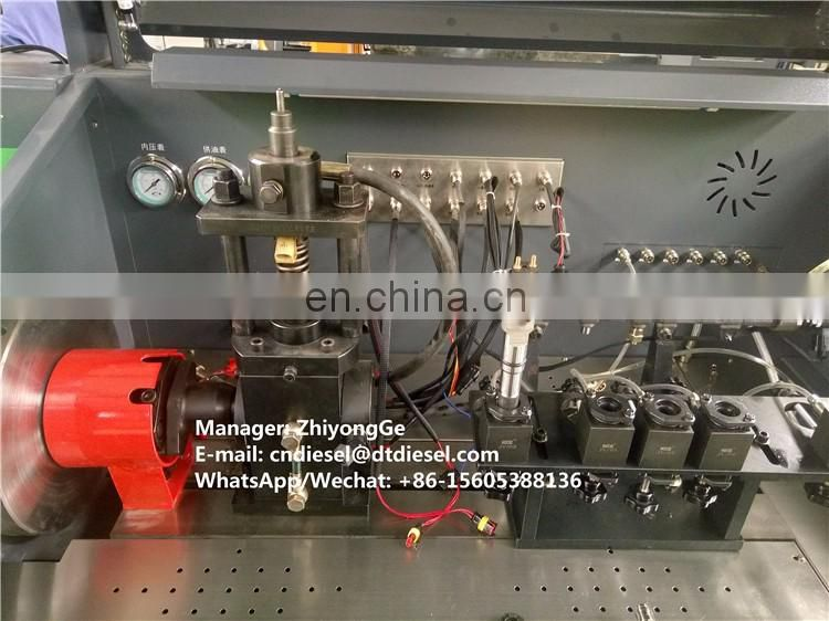 CR816 Diesel Common rail injection pump test bench with original cp3 pump