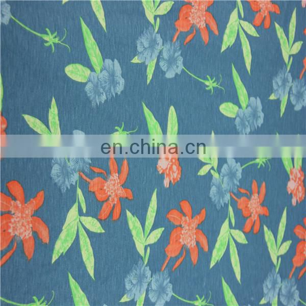 50 Ployester 50 cotton blend print fabric