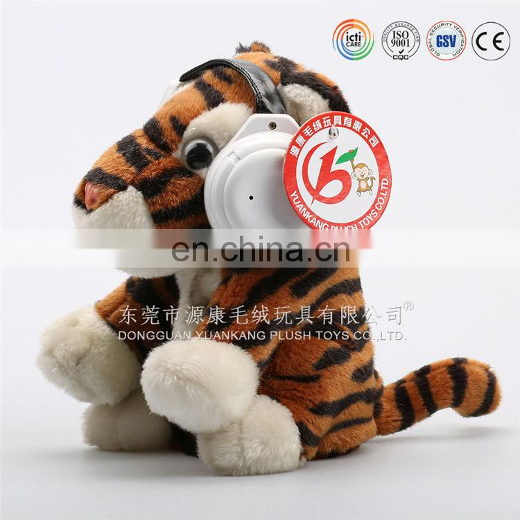 High quality plush animal electric toy