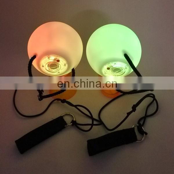 One Pair LED POI Thrown Balls for Professional Belly Dance Level Hand Props