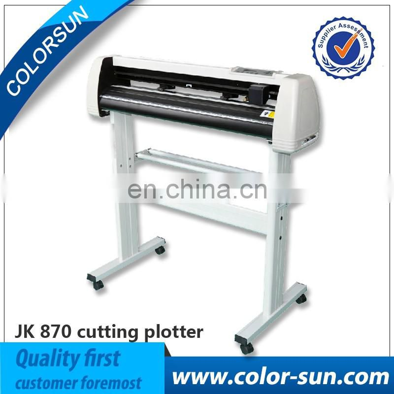 Automatic Desktop vinyl cutter/cutting plotter with different size