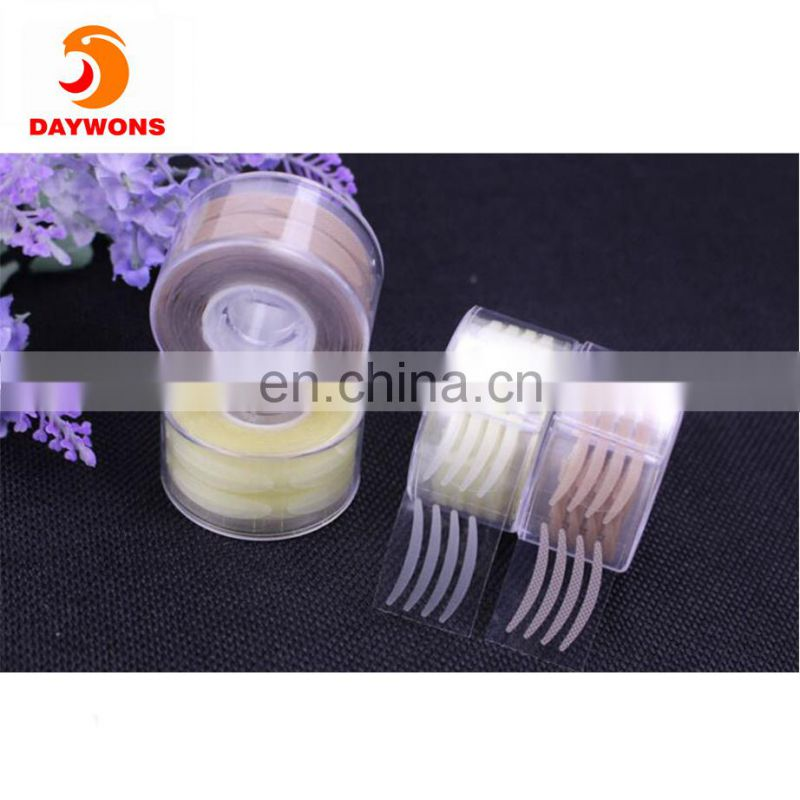 Daywons Double Eyelid Stickers Single Side Self Adhesive Invisible Fiber Natural Complexion and Lace Eyelid Tape