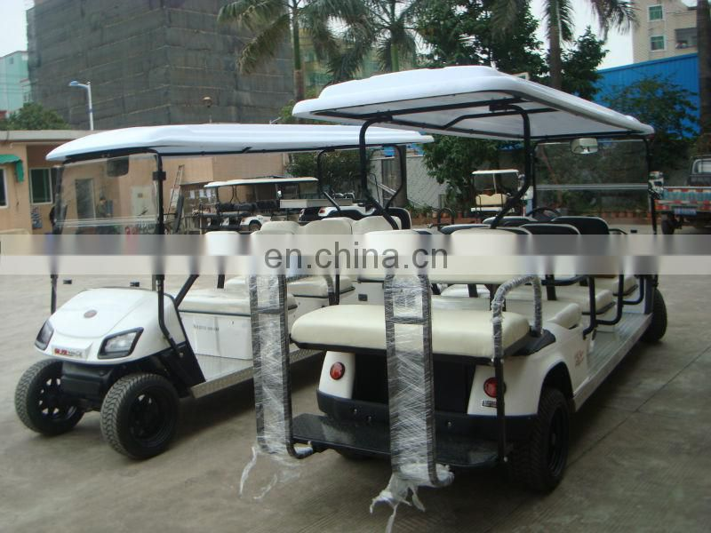 Restaurant hotel school park use 6 seater electric hotel passenger car