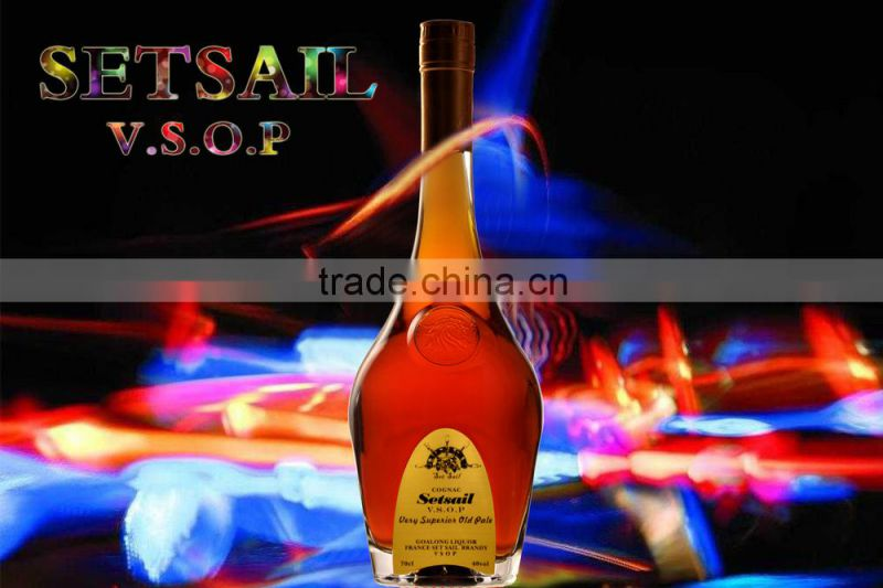 different types of brandy alcohol in China with cheap price and free samle