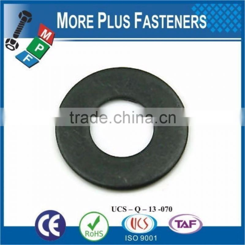 Made in Taiwan Black Oxide Stainless Steel Zinc Thin Flat Washer