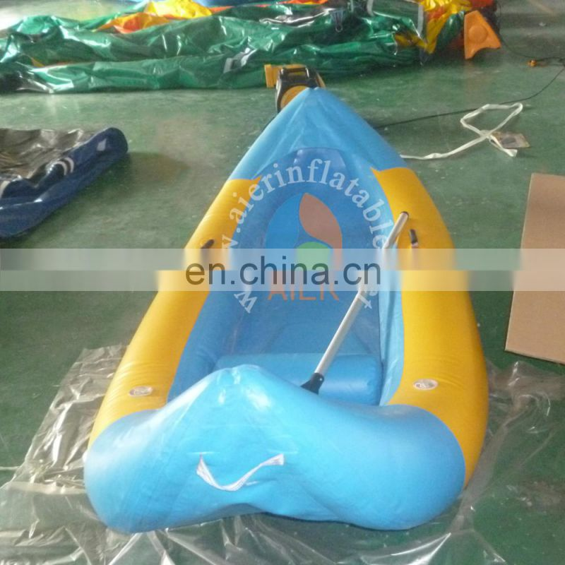 2017 new inflatable water game / Factory price inflatable floating boat water game toys for adults