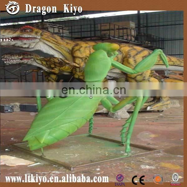 2015 Simulation Insect Exhibition Animatronic Mantis for Sale