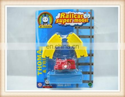 kids assemble wind up train railway toys